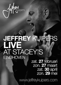 Jeffrey live at Stacey's Eindhoven